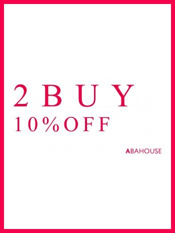 ABAHOUSE 2BUY 10%OFF !!