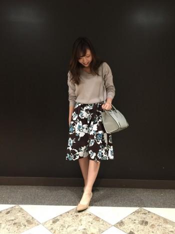 ♡NEWフラワースカート♡