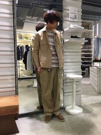 新作★ミリタリーシャツ