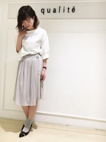 春☆スカーチョでデート服
