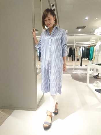 新作☆オックスロングシャツ