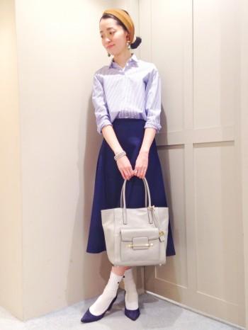 ◆人気スカートで春のコーデ◆