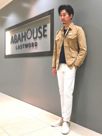 ベルテッドジャケット ◆ABAHOUSE◆