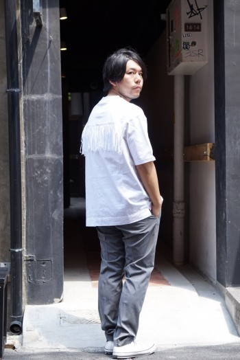 Tシャツコーデ SUPERTHANKS × ABAHOUSE/ABAHOUSE/CONVERSE