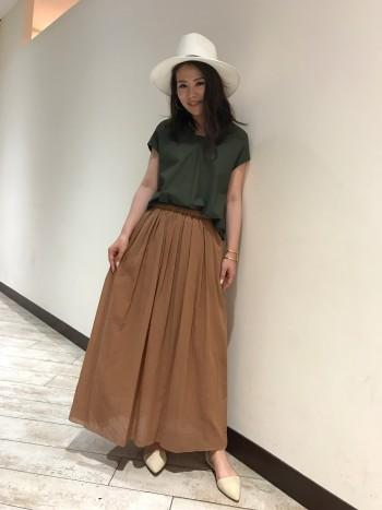 ルージュヴィフのロングスカート♪