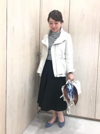 春のボリューム衿ブルゾン登場!!