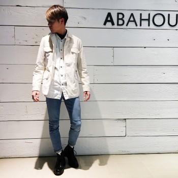 ベルテッドジャケット ◇ABAHOUE◇