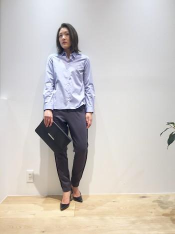 ◆シャツスタイルの大人な着崩し◆