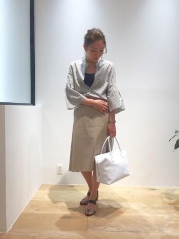 ◆エレガントなスカートで女性らしく◆