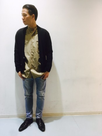 ABAHOUSE NEW KNITスタッフコーデ