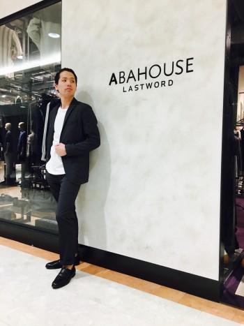 ABAHOUSE セットアップ スタッフコーデ