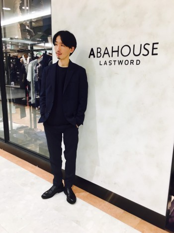 ABAHOUSE  新作セットアップスタッフコーデ