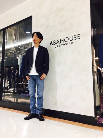 ABAHOUSE  新作JEANSスタッフコーデ