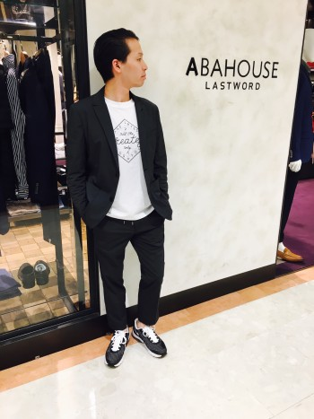 ABAHOUSE カットソー スタッフコーデ