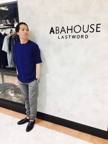 ABAHOUSE NEW TEE スタッフコーデ