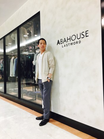 ABAHOUSE  新作カーディガンスタッフコーデ
