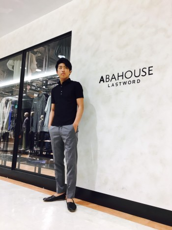 ABAHOUSE 新作ポロシャツ