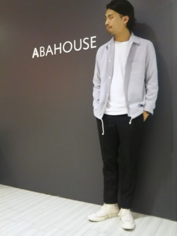 ABAHOUSE シャツコーチJKT