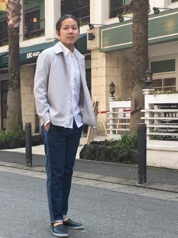 スーピマシルケットデニム サイドラインデニム ★ABAHOUSE★