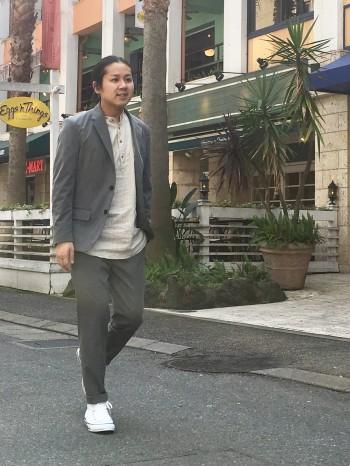 TRトロストレッチセットアップ ★ABAHOUSE★