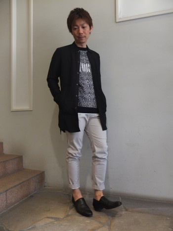 リネンロングシャツStyle
