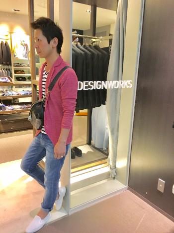 意外と着れるピンク~casual~