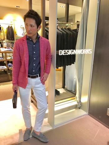 意外と着れるピンク~dressy~