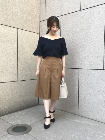 カタログ掲載アイテム♡大人の肌見せコーデ