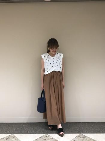 MICA星柄Tシャツ