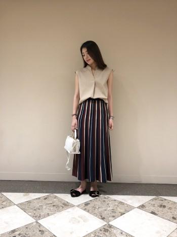 ★ストライプニットスカート★
