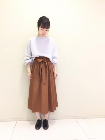 ■新作スカートコーデ■