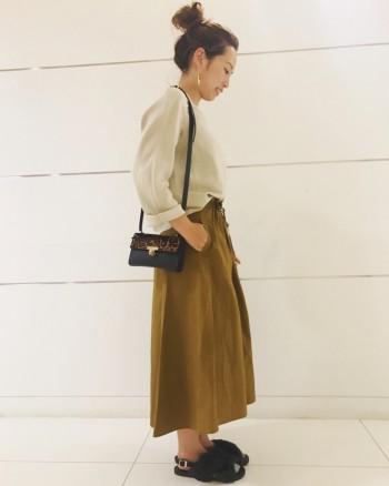 ★スカート着回しコーディネート 9月編 ★