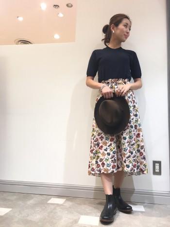 9月から使えるコーディネート☆