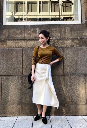 春に着たいスカート☆