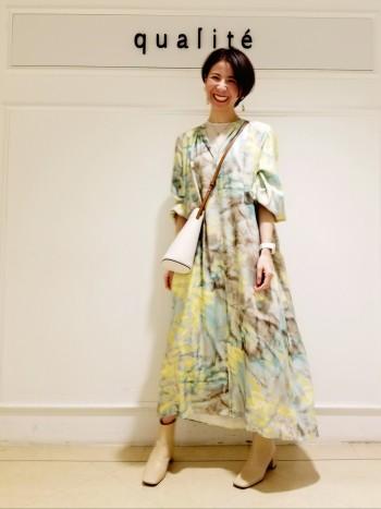 【京都髙島屋】着心地抜群のカットソーです!袖と裾はメロー仕上げなのでニットとレイヤードしてTシャツとは違う着こなしもしていただけます♪