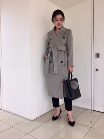 アウターフェア開催中☆コートが主役の通勤スタイル