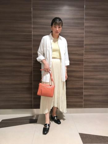【AU東京大丸店】クッション性があり長時間履いても疲れにくいです。