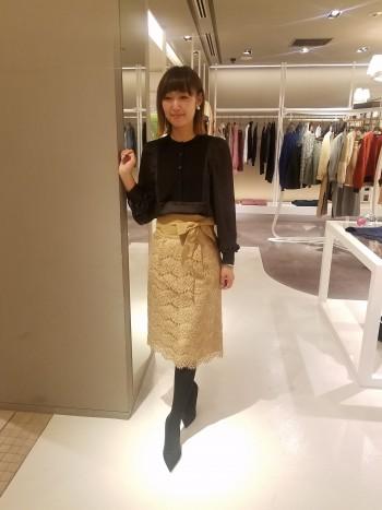 イベントシーズンにオススメ☆レーススカート