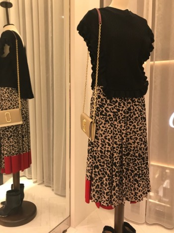 N°21★レオパードプリーツスカート