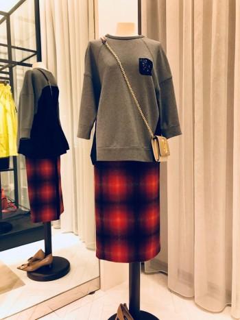 N°21 ★チェックタイトスカート