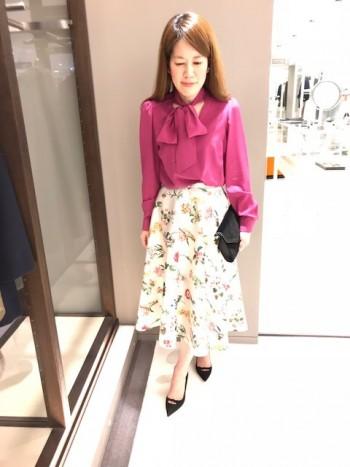 No21プリントスカート