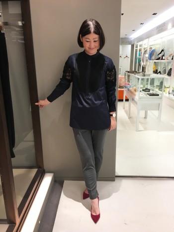 新作★ニューテーパードパンツ