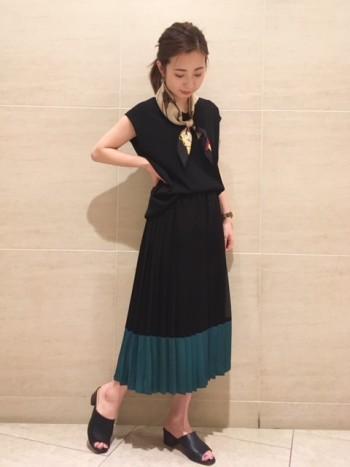 阪急梅田★オシャレスカートパンツ