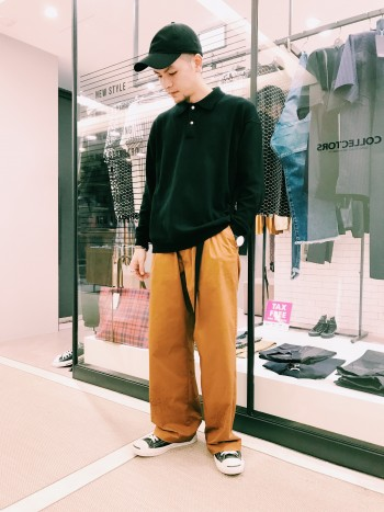 Knit Polo ◆ABAHOUSE◆