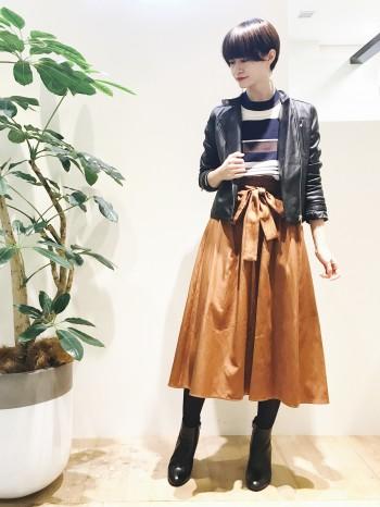 ▼新作!楽ちんで可愛いスカート