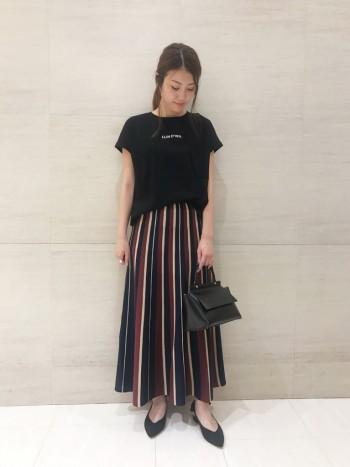 ☆ストライプニットスカート☆