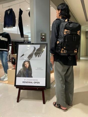 当店でも人気の『マキャベリック』 ファッション面と機能面両方を兼ね備えています☆