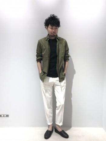 天竺のTシャツは柔らかく着心地も良いです。 通常より厚手の生地なので透けにくく、1枚でも着映えするアイテムです。