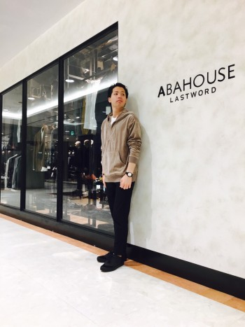 ABAHOUSE 新作ベロアパーカー