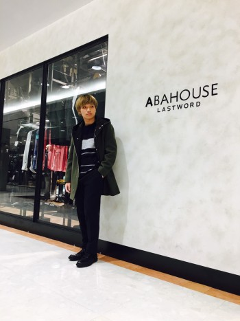 ABAHOUSE  新作アウターコーデ